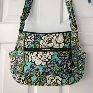 Vera Bradley Floral On the Go crossbody Bag
